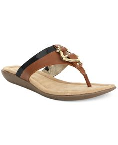 Bandolino Janette Flat Thong Sandals - Shoes - Macy's