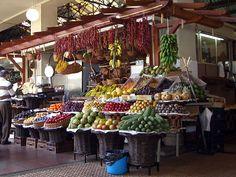 Madeira, Obst- und Gemüsemarkt (2006)