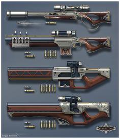 ArtStation - REMINGTIME weapon, Sergey Tsimmer