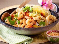 Unser beliebtes Rezept für Thai-Pfanne mit Garnelen und mehr als 55.000 weitere kostenlose Rezepte auf LECKER.de.