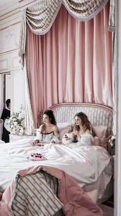 A look inside the newly renovated Ritz Paris with actors Anna Brewster, Noémie Schmidt, and George Blagden. Photographed by Mikael Jansson, Vogue, July 2016.