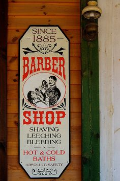 Barber's covered a lot of professions, back in the day...