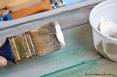 Cómo teñir cera para crear tus propias pátinas