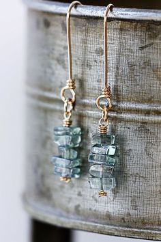 DIY Jewelry Making Fringe Earrings by Candie Cooper: Bijoux Wire Wrap, Bijoux Diy, Wire Wrapped Jewelry, Wire Jewelry, Jewelry Crafts, Beaded Jewelry, Jewelry Box, Jewelery, Jewelry Accessories