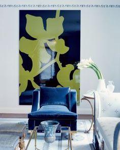 Modern Living Room by Jed Johnson Associates in New York, New York
