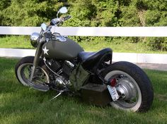 2001 Yamaha V Star 650, DIY bobber, on the cheap but looks great