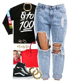 """Untitled #1261"" by power-beauty ❤ liked on Polyvore featuring Givenchy, H&M, Vans and ASOS"