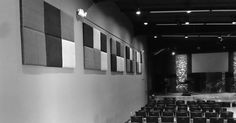 There is a good chance your church sanctuary was not built with sound absorption in mind. Use Sound absorbing panels to improve the sound at your church.