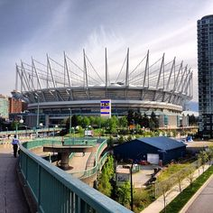 BC Place home to the Vancouver Whitecaps and BC Lions
