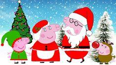 Desenho Familia Peppa pig português natal chegando 2015 Papai Noel Peppa...