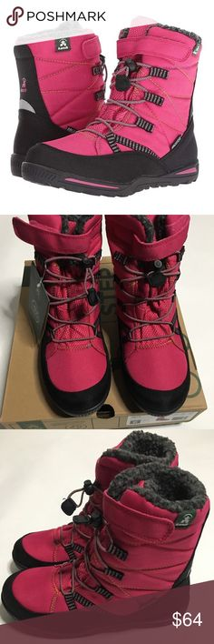 GYMBOREE ENCHANTED WINTER PINK GLITTER SHERPA HI-TOP SNEAKERS 10 11 12 13 NWT