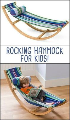 Kids Can Now Enjoy Their Very Own Rocking Hammock!