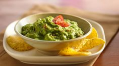 Few appetizers are more associated with Mexican food than guacamole (gwah-kuh-MOH-lay). Who can resist this sumptuous green dip made from ripe avocados? This recipe is the real thing with just the right balance of avocados, onion, jalapeño chilies, cilantro and lime juice.