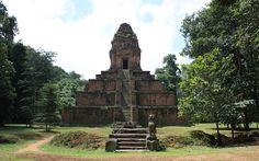 Baksei Chamkrong in Angkor, Siem Reap Cambodia  Date: 947 AD, Reign: Hashavarman I, Religion: Hindu (Shiva)  Read more: http://www.globaltravelmate.com/asia/cambodia/angkor/angkor-temples/540-siem-reap-baksei-chamkrong.html#ixzz2XbbfLqGa