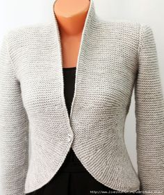 Knit Jacket, Wool Cardigan, Wool Sweaters, Knitwear Fashion, Sweater Outfits, Cardigans For Women, Knitting Patterns, Knit Crochet, Clothes For Women