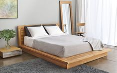 Wood Platform Bed With Headboard. This amazing picture selections about Wood Platform Bed With Headboard is accessible to save. We obtain this best photo from Platform Bed Sets, Modern Platform Bed, Wood Platform Bed, Japanese Platform Bed, Platform Bedroom, Bedroom Images, Bedroom Photos, Bed Without Headboard, King Headboard