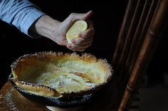 Dutch babies! With lemon and powdered sugar. How bad would it be to make one and eat the entire thing myself?