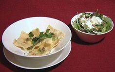 Das perfekte Ravioli mit getrüffelter Ricotta-Walnuss-Füllung an Wildkräutersalat (Thorsten Nindel)-Rezept mit einfacher Schritt-für-Schritt-Anleitung:…