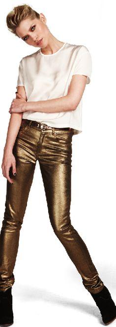 slim gold