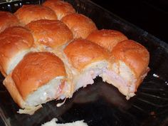 Football Food: Hot Turkey Sammies!