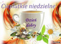 Cieplutkie niedzielne dzień dobry zajączek - Gify i obrazki na GifyAgusi.pl Good Morning, Gifts, Humor, Polish, Buen Dia, Presents, Bonjour, Humour, Funny Photos