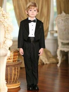 2016 New Arrival Boy'S Formal Wear Occasion Suits Children Wedding/Birthday/Prom Suit Boys TuxedosJacket+Pants+Bow+Shirt+Girdle Boys Semi Formal Wear Cheap Kids Outfits From Bridelee, $63.77| Dhgate.Com
