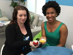 Happy 1 year LSG anniversary & belated birthday to Heather and Johnna! We celebrated with some adorable bundt-tinis!