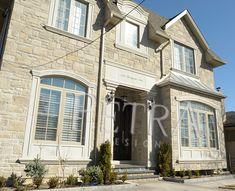 Door surround entrance, cast stone door surrounds, stone window surrounds, columns.Please visit Our website for more exterior architectural products . Exterior Window Molding, Window Moulding, Exterior Doors, Interior And Exterior, Exterior Products, Precast Concrete, Cast Stone, Cladding, Entrance