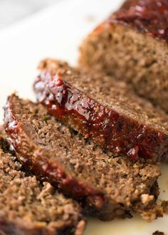 Meatloaf is so much more than a giant hunk of ground beef in a loaf shape. It should ooze with flavour, be moist and tender yet not crumble apart when sliced. And the caramelised glaze is the crowning glory!