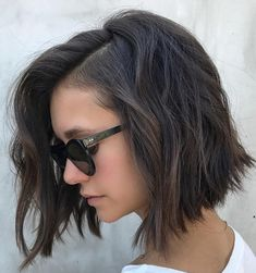 7 Of The Tremendously Cool Hairstyles for Girls to Watch Out for 2021 | Gosh Styles Short Hairstyles For Thick Hair, Haircut For Thick Hair, Short Bob Haircuts, Hairstyles Haircuts, Trendy Hairstyles, Short Hair Styles, Layered Haircuts, Short Haircut Thick Hair, Wavy Hair