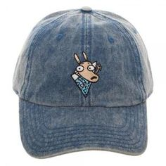 Nickelodeon Rocko s Modern Life Adjustable Hat Dad Hats 55869a9535d9