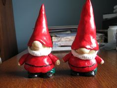 sculpey gnomes, so cute for Christmas