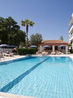 Nathalie Hotel - Rhodes Greece Hotels, Rhodes, Outdoor Decor, Home Decor, Decoration Home, Room Decor, Home Interior Design, Home Decoration, Interior Design