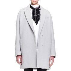 Brunello Cucinelli Women's Felted Wool-Blend Car Coat