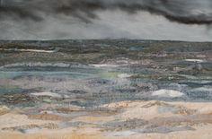 Rain Clouds over the Sea Judith Reece Textile Design *