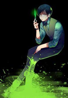 Find images and videos about anime, osomatsu-san and choromatsu on We Heart It - the app to get lost in what you love. Anime Siblings, Osomatsu San Doujinshi, Dark Anime Guys, Green Theme, Ichimatsu, Mobile Legends, Anime Artwork, Light Novel, Manga