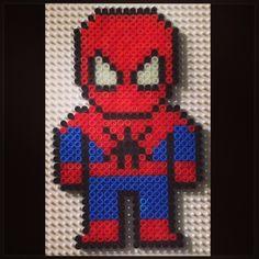 Spiderman hama beads by hob2393