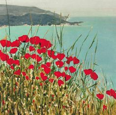 """""""Poppies""""  Giclee Print  Created by Laurie Regan Chase"""