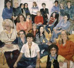 A.I.R Group Portrait, 1977 © Sylvia Sleigh