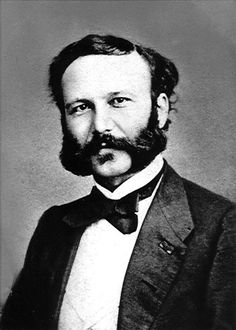 Henry Dunant (1828–1910), Swiss philanthropist and co-founder of the International Committee of the Red Cross; Nobel Peace Prize laureate 1901