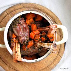 Баранина тушеная с ягодным уксусом - настоящая палео еда! #палео #paleo #meat #палеодиета #баранина #мясо #палеорецепт #безглютена #безсахара