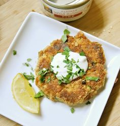Cajun Salmon Cakes #recipes #foods