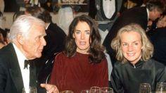 """Beim Bambi 1997: Blacky Fuchsberger, Angelica """"Dickie"""" Mommsen und Jil Sander"""