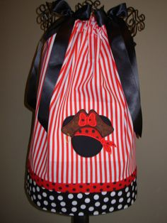 Minnie Pirate Dress personalization extra by STLGIRL on Etsy