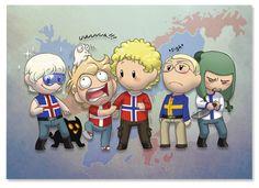 Scandinavia and the World