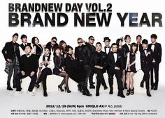 Brand New Music artists to hold 'Brand New Day Vol.2 Brand New Year' concert