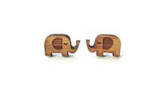 Little Elephant Earrings // Cabin + Cub