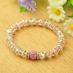 PandaHall Jewelry—Glass Stretch Bracelets    PandaHall Beads Jewelry Blog