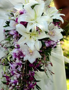 What My Wedding Boquet is going to look like but with White and Yellow Flowers.