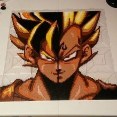 Dragon Ball  Z perler beads by  draventhefallen